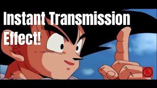 Instant Transmission Effect - Premiere Pro (No-Plugin)