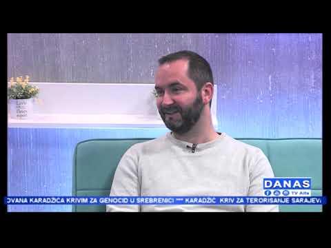 'Danas' TV Alfa: Asmir Hasičić (20.03.2019.)