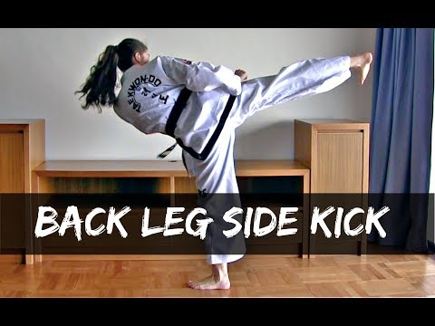 Back to Basics | Back Leg Side Kick | Step by Step Guide | The Martial Artist's Way 🥋