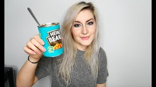 Eating Cold Baked Beans From The Tin MUKBANG