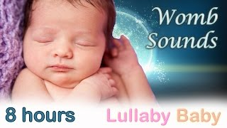 Repeat youtube video ✰ 8 HOURS ✰ WOMB SOUNDS for babies to go to sleep ✰ Womb sounds heartbeat ✰ Heart beats