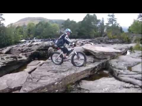 Callander to Killin Cycle path, Sept 16