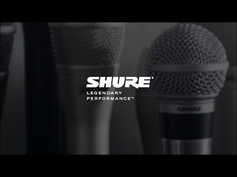 Why Buy Shure, with Sweetwater Sound