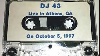 Dj 43   Live In Athens, Ga   1997