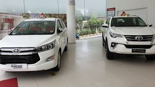 2019 Toyota Innova Crysta vs FortunerExterior,Interior&ampSize Compared Side by Side in 4K ...