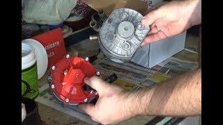 Замена газового редуктора на более мощный