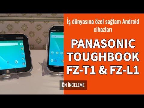 Panasonic Toughbook FZ-L1 Ve FZ-T1 Ön İnceleme
