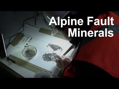 Minerals and the Alpine Fault