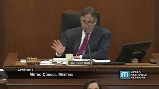 02/05/19 Metro Council Meeting