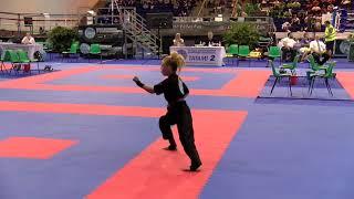 Jesse Jane McParland WAKO World Championships 2018