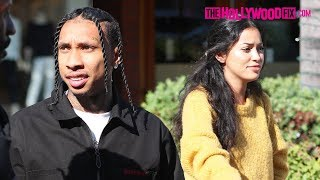 Tyga & Cindy Kimberly Enjoy A Romantic Dinner Date Together At La Scala In Beverly Hills 6.20.19
