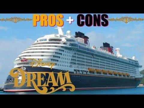 PROS & CONS Disney Dream Cruise Review 🌟