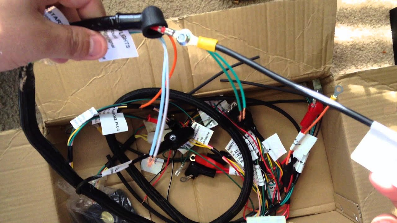 Parts Shop Max Honda Ruckus Gy6 150cc Swap Wiring Harness