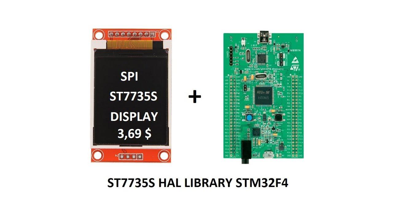 STM32F4 ST7735 _SPI_LCD HAL DRIVER