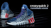 f542d33e9de adidas Running adipure® CrazyQuick SKU  8149927 - YouTube