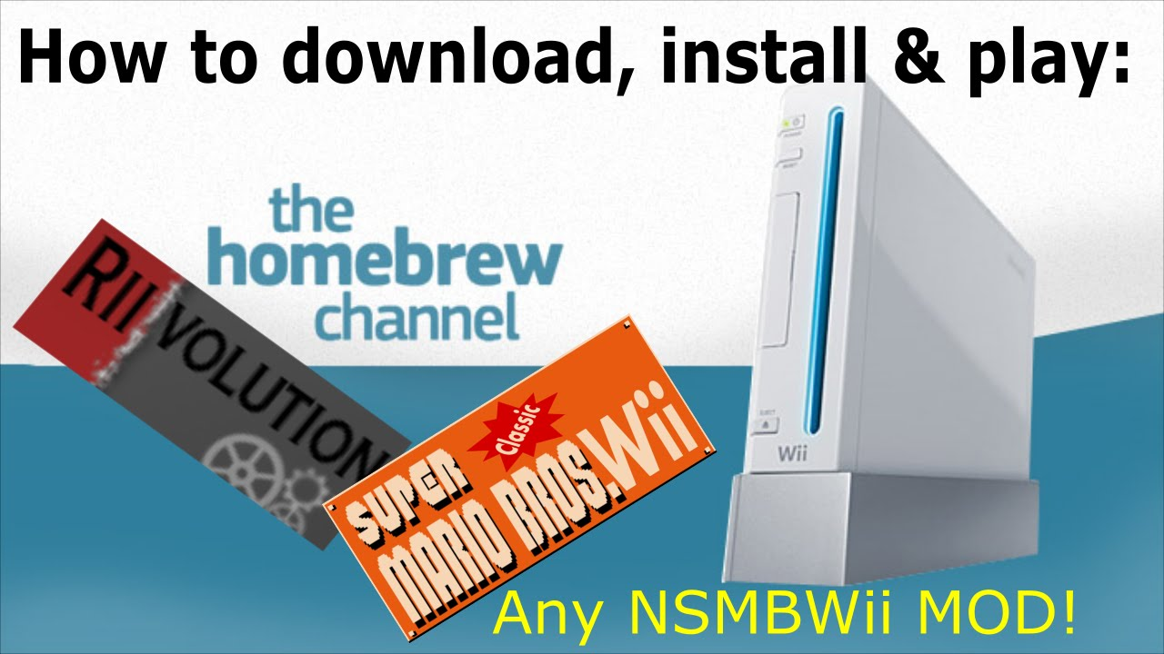 How to download & install Homebrew, Riivolution & play the SCMBWii mod on  your Wii! ~Eli-BOT