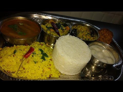 Simple Veg Lunch Menu Recipes-Tamil Nadu Style|Tamil Lunch Menu|Sappadu Recipes|South Indian Thali