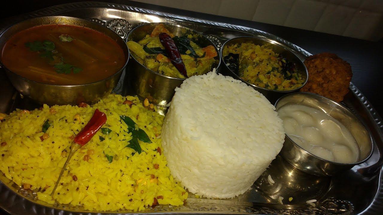 Simple Veg Lunch Menu Recipes-Tamil Nadu Style