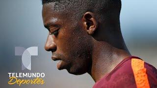 Filtran qué hizo Dembele la noche antes de desaparecerse del Barcelona | Telemundo Deportes