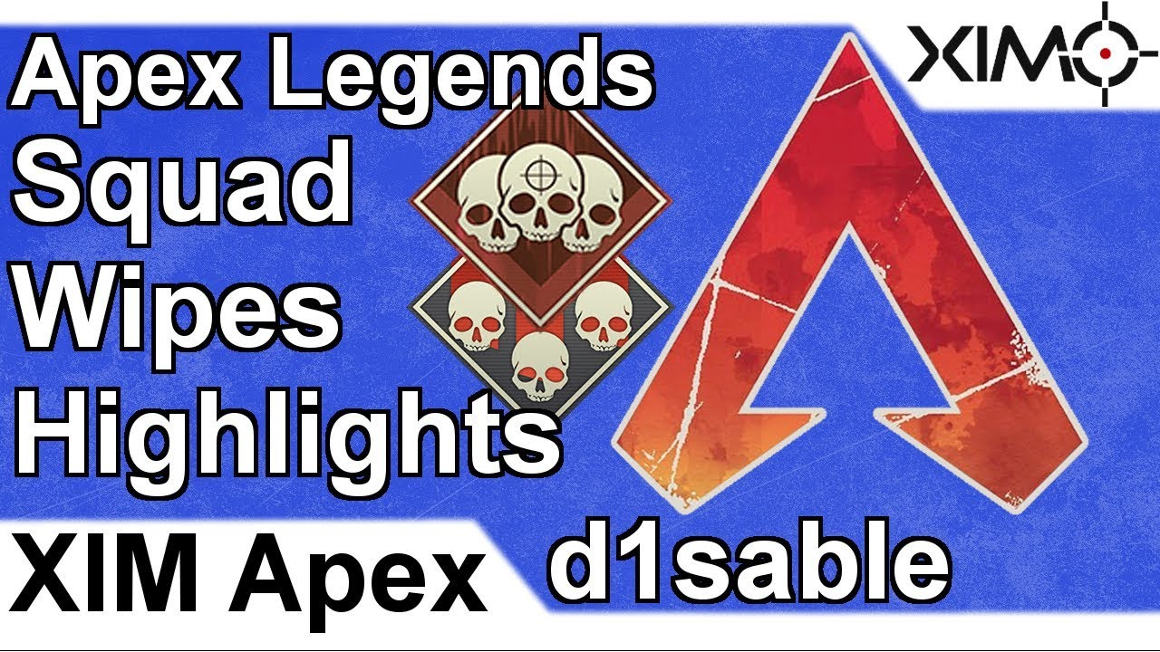 XIM APEX – Apex Legends Solo Squad Wipes Highlights by