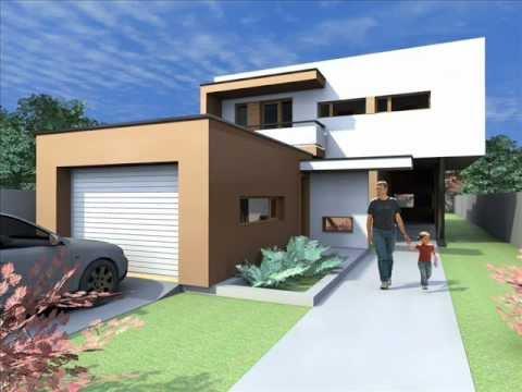 proiect modern de casa casa minimalista case minimaliste