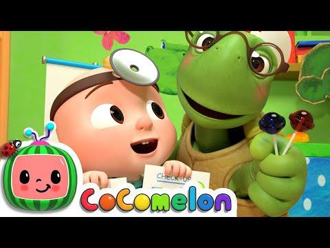 Doctor Checkup Song! | CoComelon Nursery Rhymes & Baby Songs | Moonbug Kids