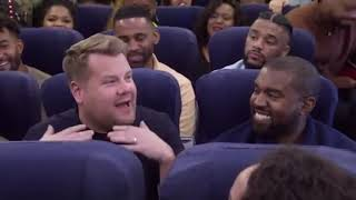 KANYE WEST & CHOIR TURNS UP ON  THE PLANE