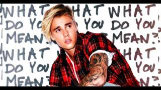 Justin Bieber - What Do You Mean(Lyrics) mp3 download/descargar