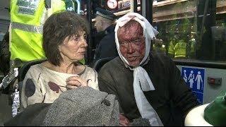 BBC ONBOARD AMBULANCE CALLED TO THE SCENE OF APOLLO THEATRE COLLAPSE - BBC NEWS