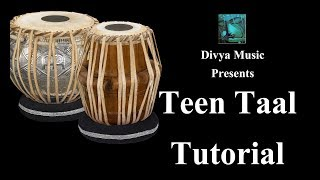 Indian Music School Academy Online Courses Learn to play TEEN TAAL on Tabla with Clapping Music