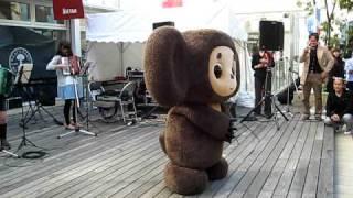 チェブラーシカ in 吉祥寺 2009年10月 11日  Cheburashka in Kichijoji,Tokyo,Japan