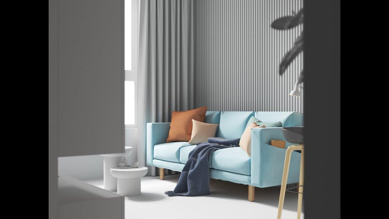 Corona新的灯光变化与布料细节制作