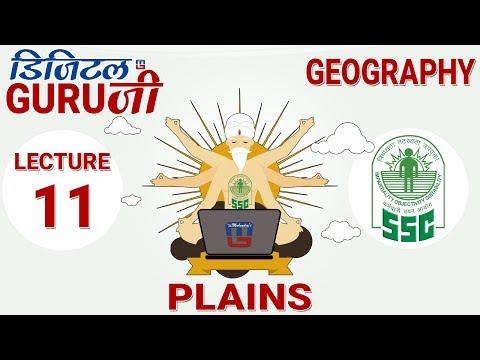 PLAINS | L11 | GEOGRAPHY  | SSC CGL 2017 | FULL LECTURE IN HD | DIGITAL GURUJI