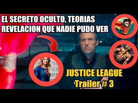 Gran Secreto que NADIE vio en el Trailer # 3 de Justice League / Incluye Análisis detallado!!