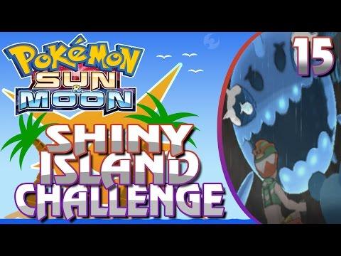 Pokemon Sun & Moon Shiny Island Challenge - Part 15 w/ Zypher - Totem Wishiwashi is Power
