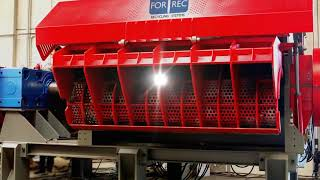 Single Shaft Grinders (XK) - Forrec Recycling