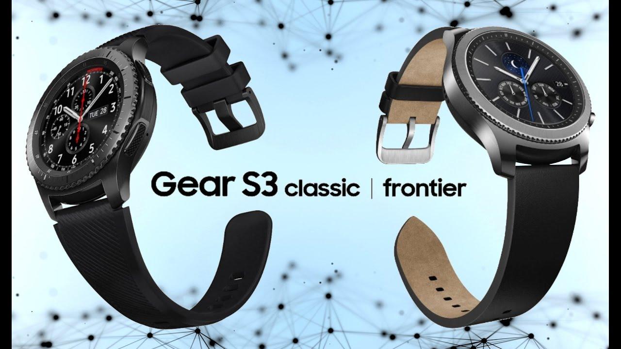 Обзор смарт-часов Samsung Gear S3 Frontier и Samsung Gear S3 Classic ... edec2e1b45f6e
