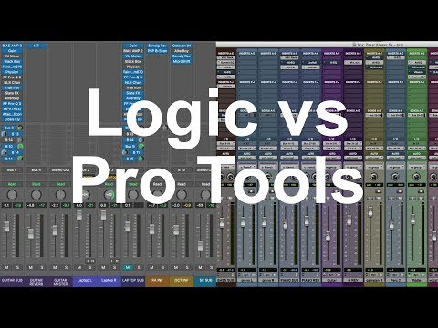 15 reasons why Logic is better than Pro Tools for mixing