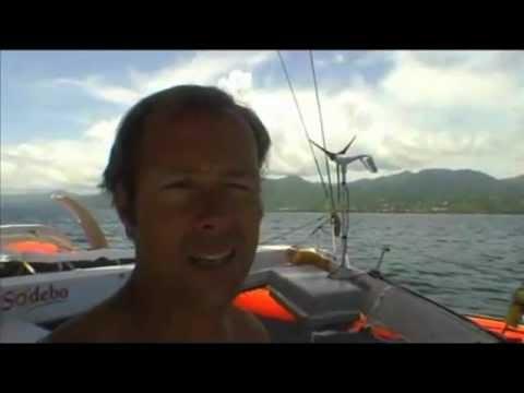 Transatlantique Guadeloupe / La Trinité sur mer en solo by Sodebo Voile