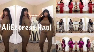 Baddie on a budget Fall AliExpress haul! Thick / plus size edition!