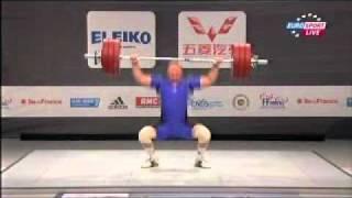 2011 Paris World Weightlifting Championships 105 Kg Snatch