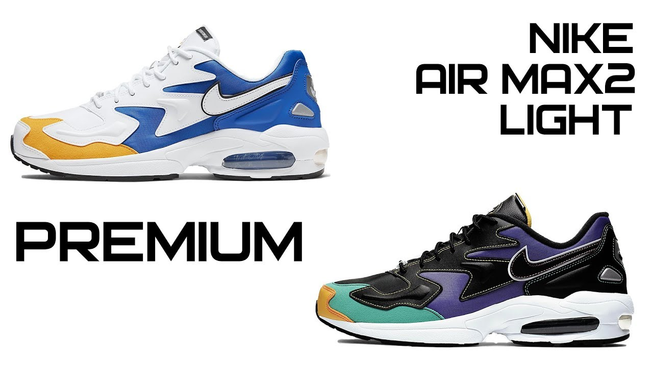 Nike Air Max2 Light Premium in weiss BV0987 102 in 2019