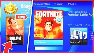 *NEW* FORTNITE x Wreck-It Ralph ITEMS! (Fortnite WRECK IT RALPH COLLAB & SKIN!?)