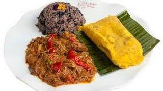 TAMALES HABANEROS con carne.  Recetas de cocina cubana hechas en CUBA