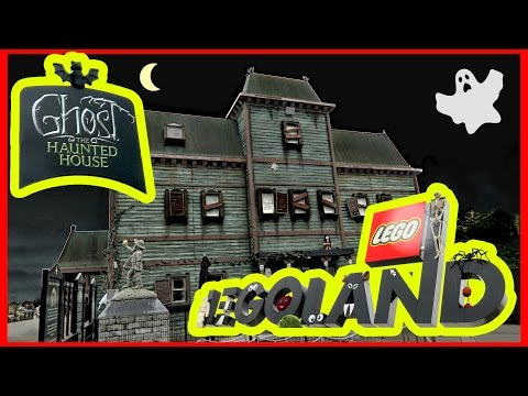 THE SCARIEST 👻GHOST HAUNTED HOUSE 🎃 LEGOLAND HALLOWEEN