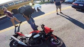 Hectic Road Bike Crashes & Motorcycle Mishaps 2017 [Ep.#27]