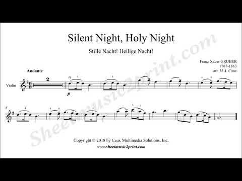 Silent Night - Violin
