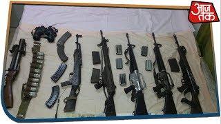 बिजनौर: मदरसे से बरामद हुए अवैध हथियार, संचालक समेत 6 गिरफ्तार