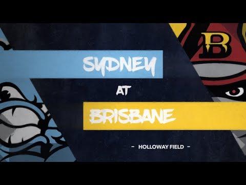 GAME REPLAY: Sydney Blue Sox @ Brisbane Bandits, R4/G4