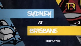 GAME REPLAY: Sydney Blue Sox @ Brisbane Bandits, R4/G4 thumbnail